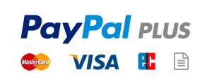 PayPal - debit / credit card or invoice