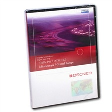 Becker / Navteq T1000-12341 - Traffic Pro / DTM Mitteleuropa Low Speed (Version 10.0 / 2008 / Final Update)