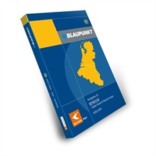 Tele Atlas Blaupunkt  Benelux + Major Roads of Europe DX 2008/2009 (2 CDs)