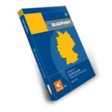 Tele Atlas Blaupunkt DEUTSCHLAND + Major Roads of Europe DX 2008/2009 (2 CDs)