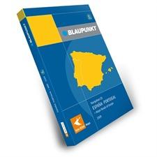 Tele Atlas Blaupunkt SPANIEN / PORTUGAL + MRE –  TravelPilot E 2009