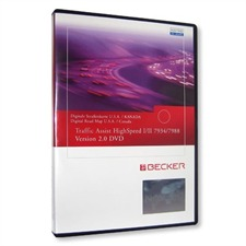 Becker / Navteq USA / KANADA - Traffic Assist Highspeed DVD V. 2.0