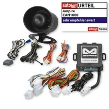 Ampire CAN1000 &ndash; CAN-Bus vehicle alarm system for </br>TOYOTA Auris from 2007