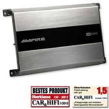 Ampire MB1000.1 – Mono Subwoofer Verstärker (1000W RMS / 1600W max.)