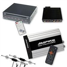Ampire/Dietz DVB-T-Tuner DVBT52 & DVD-Player 85700 + Multimedia Interface für BMW 16:9 Professional MK3 / MK4 mit AUX