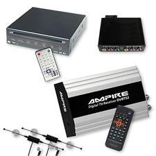 Ampire/Dietz DVB-T-Tuner DVBT52 & DVD-Player 85700 + Multimedia Interface für BMW 16:9 Professional MK3 / MK4 mit CD-Wechslereingang