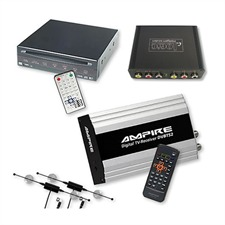 Ampire/Dietz DVB-T-Tuner DVBT52 & DVD-Player 85700 + Multimedia Interface für MERCEDES Comand NTG1 / NTG2
