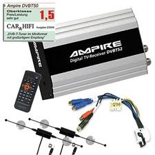 DVBT50 – DVB-T Diversity-Receiver + DVB-T-Antennen + Bild&Ton-Adapter für BMW 7er (E38) / 5er (E39) / 3er (E46) / X5 (E53) / X3 (E83) / Z4 SET