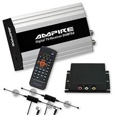Ampire DVBT52 – DVB-T Diversity Tuner + MM Interface für BMW iDrive Professional Navigation (CiC / 7 Tasten) mit Werks-TV-Tuner-Anschluss
