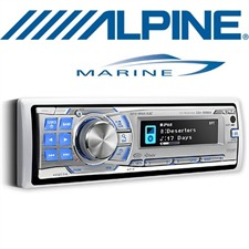 ALPINE Marine CDA-9886M – Marine CD Receiver MP3 / WMA / AAC / CD / USB / iPod