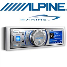 ALPINE iDA-X100M – Marine Digital Media Receiver  MP3 /  USB / AAC / iPod