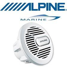 ALPINE SWR-M100w – Marine Subwoofer (weiss)