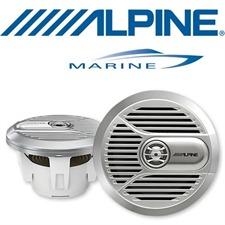 ALPINE SPR-M700 – 17,8 cm 2-Wege Koaxial Lautsprecher (silber)