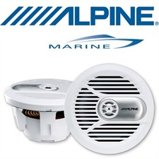 ALPINE SPR-M700w – 17,8 cm 2-Wege Koaxial Lautsprecher (weiß)