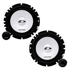 ALPINE SXE-1750S -  Component 2-Way Speaker for ALFA / FORD / OPEL / SEAT / VW ... (6-1/2