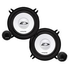 ALPINE SXE-1350S - 2-Wege Lautsprechersystem für CITROEN / FORD / RENAULT / ROVER ... (13 cm / 5,25-Zoll)