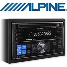 ALPINE CDE-W203Ri – CD Receiver with MP3 / WMA / AAC / iPod / iPhone / USB / AUX / 4x50W / 2-DIN