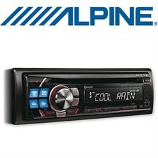 ALPINE CDE-113BT – MP3/WMA/AAC CD RECEIVER (Schwarz/Grün/Amber/Blau/Rot)