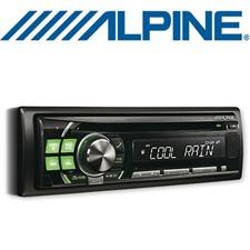 ALPINE CDE-111R – CD Receiver mit MP3 / iPod / iPhone / USB / 4x50W