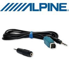 ALPINE KCE-237B – Full Speed Adapter zum Anschluss externer Quellen mit Klinke 3,5mm für Steuergeräte ab 2009