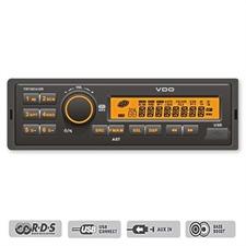 VDO-Dayton TR7322U-OR – 24 Volt RDS Tuner mit USB 2.0