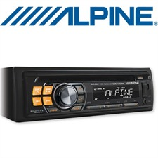 ALPINE CDE-120RM – CD Receiver mit MP3 / AUX / USB / 4x50W