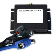 Multimedia Interface (Audio / Video) for Audi Navi Plus und VW Skoda Seat with MFD1 navigation system (4:3), 1x A/V-IN