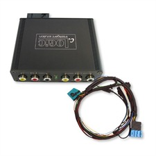 11002844 – Multimedia Interface (AV) BMW 16:9 MK3 MK4 (steuerbar) + RFK-Eingang  (mit AUX)