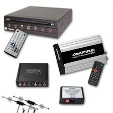 Ampire/Dietz DVB-T Tuner & DVD-Player  für Land Rover Touchscreen Navigation (2G) ab MJ 2010 inkl. TV-Free