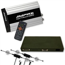Ampire DVB-T52-Tuner mit Multimedia-Interface für AUDI A4 / A5 / A6 / A8 / Q7 mit MMI High 2G (DVD Navigation)