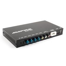 Ampire DVBT1000 - DVB-T2 HD Quad-Receiver für frei empfangbare TV-Programme mit vier Tunern (USB / HDMI / Cinch / inkl. ergonomischer Fernbedienung)