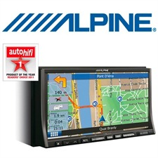 ALPINE INA-W910R - 2-DIN All-in-One-Unit with Navigation TMC MP3 Tuner RDS CD DVD USB Bluetooth<sup>®</sup> Made for iPod/iPhone<sup>®</sup>