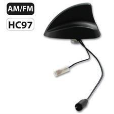 Calearo 15.7727050 - Shark II Radio AM / FM Dachantenne - Haifischflosse