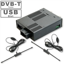Kufatec 38358 - FISCUBE® - DVBT + USB Interface Audi MMI 2G mit analog TV-Tuner
