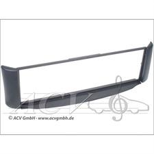 c~quence 281190-14 - 1-DIN Autoradioeinbaublende zur Nachrüstung für Smart ForTwo (450) ab 01/1998 (anthrazit)