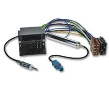 ACV 1324-46 - Audi / Seat / Skoda / VW DIN-Antennenadapter / Radioanschlusskabel Quadlock mit Phantomeinspeisung