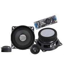 RAINBOW DL-C4.2 Installer - 2-Wege System (2 x 100 mm Woofer / 2 x 20 mm Hochtöner / inkl. Kabelweiche)
