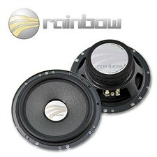 RAINBOW 231087 - DL-W6 Lautsprecher Woofer Tieftöner Set 150 W 6.5 Zoll 165 mm