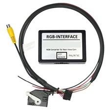Rückfahrkamera Interface für VW, Seat und Skoda mit Navigationssystem MFD3/RNS510 und RCD510