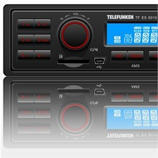 TELEFUNKEN CARRADIO - DIAMOND LINE 1 DIN RDS Tuner without CD