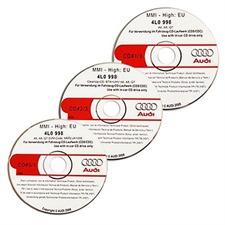 Audi MMI High Update Paket (3CDs) für das MMI(2G) im A6 / S6 / RS6 (4F) / A8 / S8 (4E) / Q7 (4L)