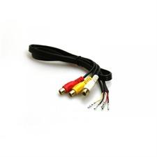 Kufatec 33945 - Video- In Adapter Kabel für AUDI mit MMI2G / MMI3G & Hybrid Tuner A4 A5 S5 A6 S6 RS6 A8 S8 Q7