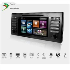 DYNAVIN DVN E39 D99 - 2-DIN multimedia device DVB-T HD USB DVD-Player Radio FM RDS TMC Navigation Parrot Bluetooth for BMW 5-Series E39