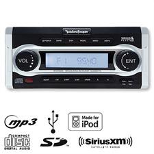 ROCKFORD FOSGATE RFX9700CD - Marine Tuner (black / MP3 / USB / iPod / CD SiriusXM)
