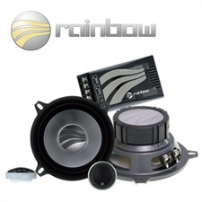 RAINBOW 231172 - 120 Watt 13 cm (5.25 Zoll) Sound Line SL-C5.2 Lautsprecher 2-Wege Compo Set