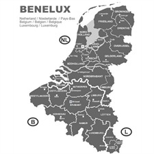 Benelux - Navigation CD for VDO nonCIQ-Systeme 2012/2013