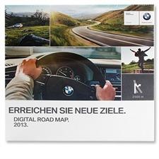 BMW / Navteq EUROPA - Road Map für BMW MK 2013 (9 CDs)