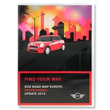 BMW / Navteq T1000-19956 - DVD Road Map EUROPE for Mini Professional Update 2013