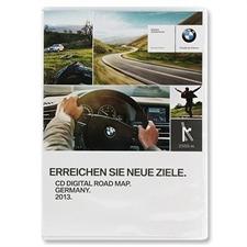BMW / Navteq Deutschland - Navigationskarten-Update Digital Road Map für BMW (MK I / MK II / MK III / CD / 2013)