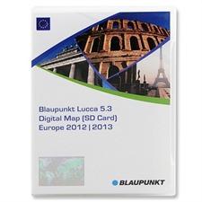 Blaupunkt Europa (West +Ost) - T1000-19968 - Lucca 5.3 SD-Karte 2012/2013 (2xSD)